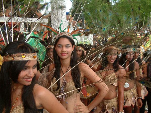 Foto de los indios tainos