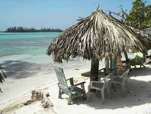 Boca Chica Has A Beautiful White Sand Beach A Mile Long With Hotels Restaurants Overlooking