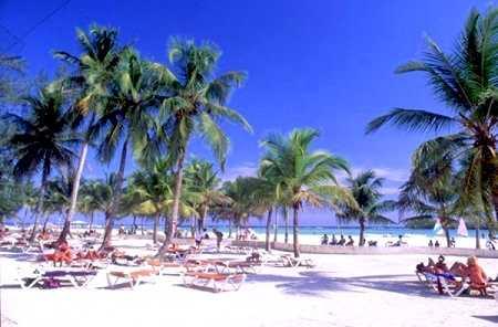 Spiaggia Diario Di Viaggio Inglese Boca Chica Santo Domingo Foto Galleria